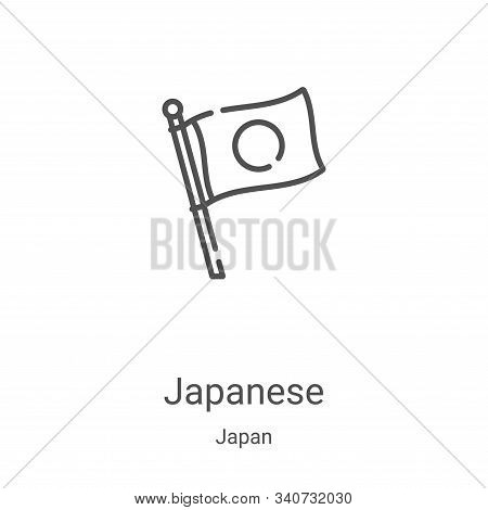 japanese icon isolated on white background from japan collection. japanese icon trendy and modern ja