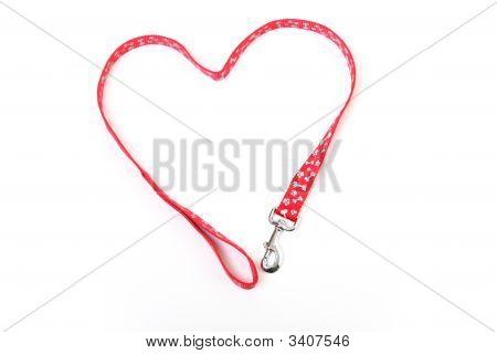 Dog Lead Heart
