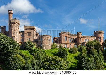 Inverness Castle, Scotland, Uk