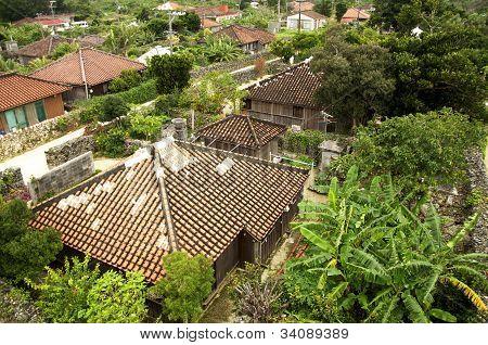 Okinawa-Häuser