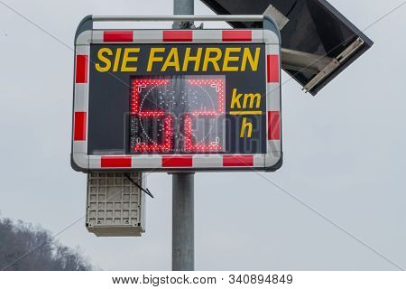 Speed Limit In The City You Drive German