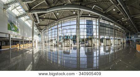 Cologne, Germany - Sep 21, 2016: The Photokina 2016 Takes Place In The Koelnmesse Building In Cologn