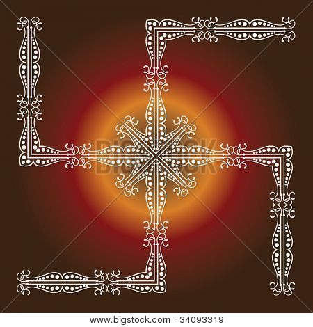 Swastica The Holy Motif poster