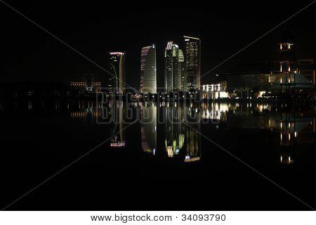 Putrajaya in the night