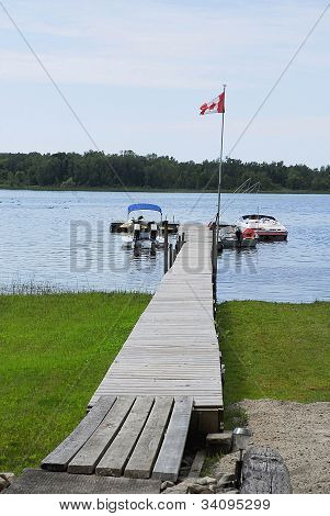 Canadian Boat Dock