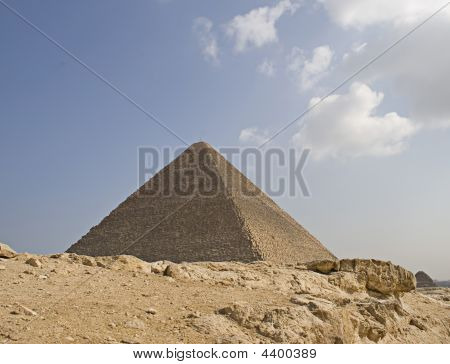 Pyramid Of Pharaoh Khufu, Giza Plateau, Egypt