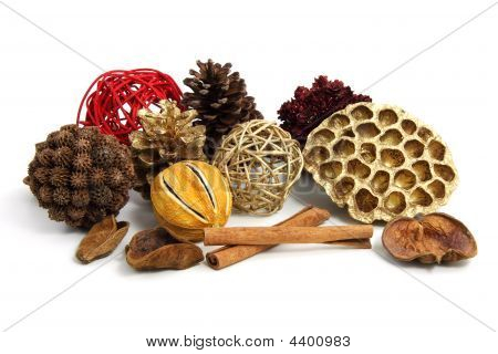 Christmas Pot Pourri Decoration