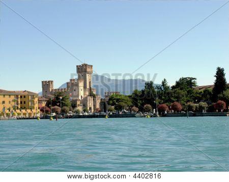 Lake Guarda. Italy.