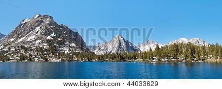 Kings Canyon National Park Alpine Lake Panorama