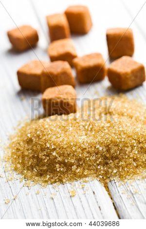 heap of the brown sugar