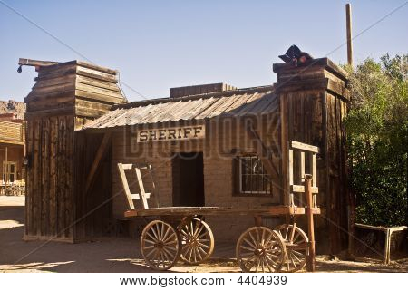 Old Western Sheriff Office