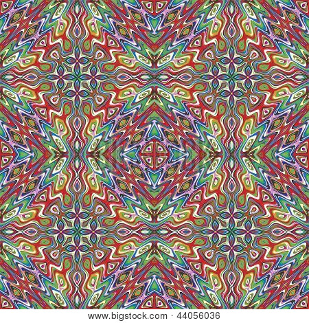 Mexican vector pattern