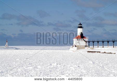Michigan City East Pierhead Lighthouse