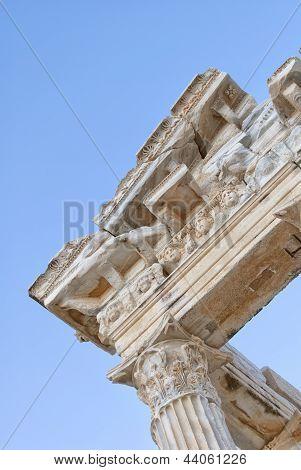 Side Temple Of Apollo