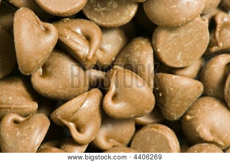 Background Of Chocolate Chips