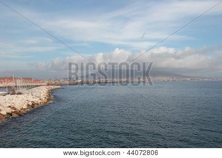 Vesuvius And Naples Coast