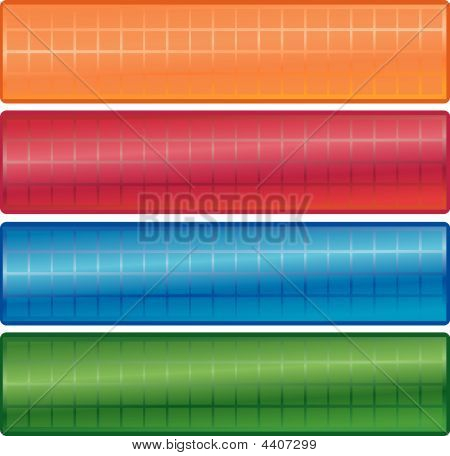 web banners for internet graphics button and backgrounds poster