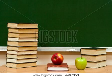 Closed Book And Two Apples