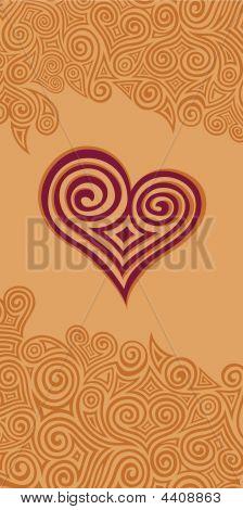 Swirl Heart Pattern