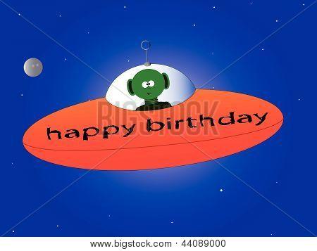 Happy Birthday Alien