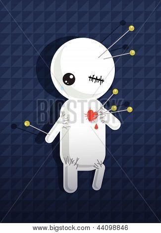 Cartoon Lover Voodoo Doll