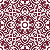 Abstract arabic or persian seamless ornament for background design poster