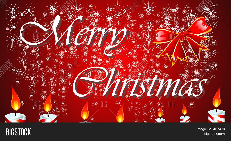 Christmas Greetings Image Photo Free Trial Bigstock
