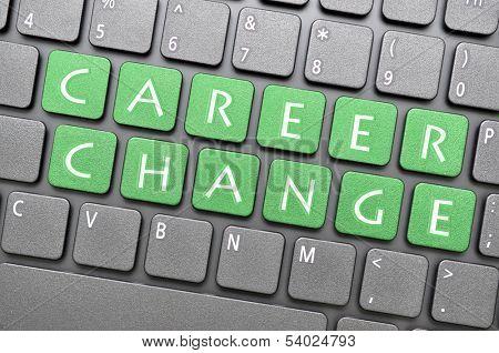 Career change on keyboard