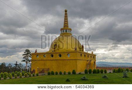 Golden Stupa Of Peace