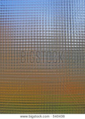 Light In Glass Texture