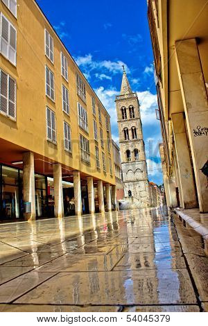 Calle Larga - Famous Street After Rain