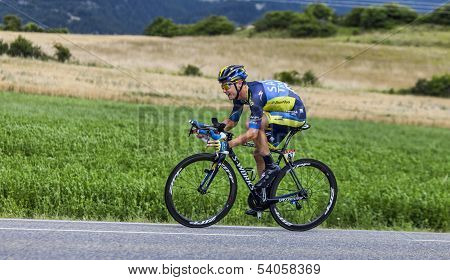 The Cyclist Nicolas Roche