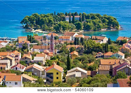 Town Of Preko, Ugljan Island