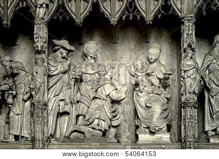 The Nativity Scene Sculpture