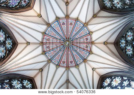 Yorkminster Chapter House Ceiling