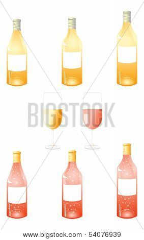 White Wine Bottles Pack