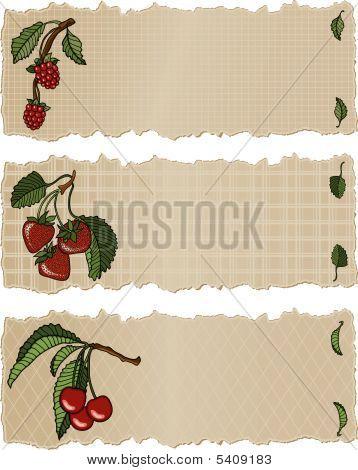 Fruit Banners Rsc