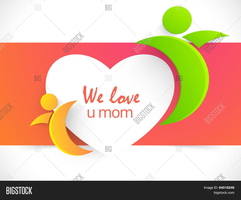 Beautiful Greeting Card Design Vector Photo Bigstock