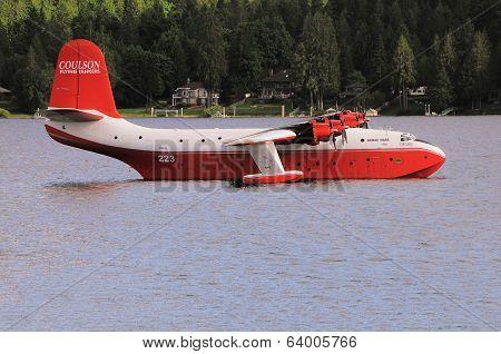Firefighter plane.