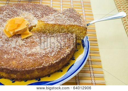 Coconut And Pumpkin Cake