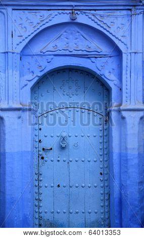 The historical Medina of Chefchaouen, Morocco.