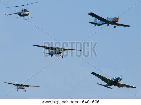 Heavy Air Traffic