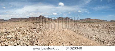 Kaokoland Game Reserve In Namibia