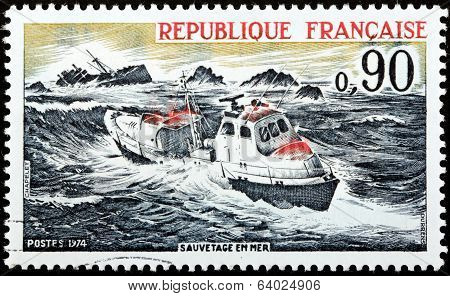 Sea Rescue Stamp
