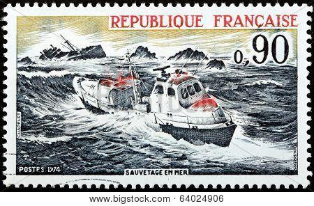 Sea Rescue Stamp