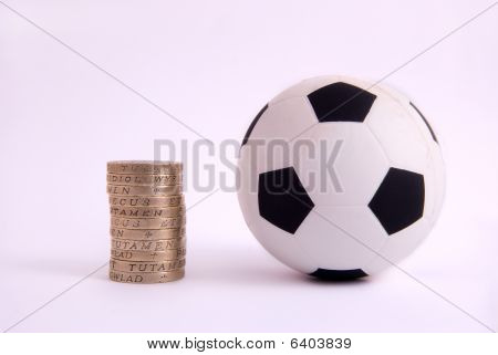 Stress Ball and One Pound Coins