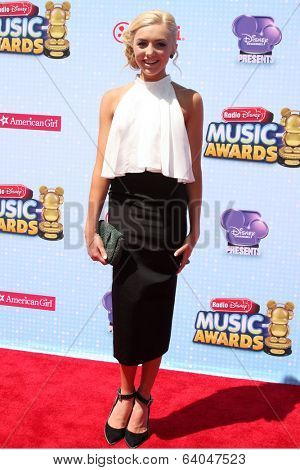 LOS ANGELES - APR 26:  Peyton List at the 2014 Radio Disney Music Awards at Nokia Theater on April 26, 2014 in Los Angeles, CA