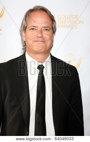 LOS ANGELES - APR 23:  Graham Yost at the 35th College Television Awards at Television Academy on April 23, 2014 in North Hollywood, CA