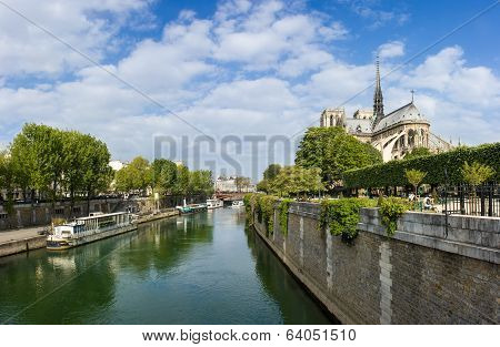 Paris, view of notre dame