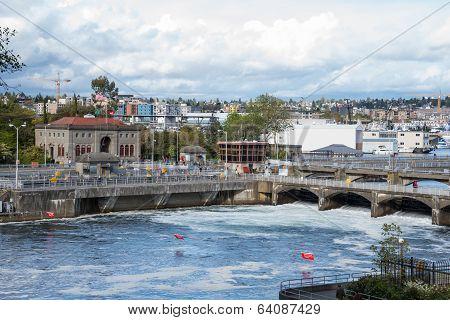 Seattle Hiram M. Chittenden Ballard  Locks